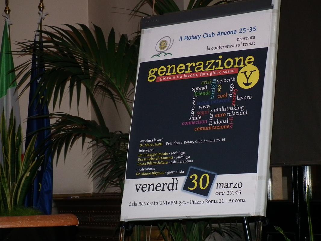 Miniatura per l'articolo intitolato:Progetto 'Generazione Y'
