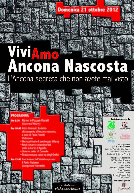Miniatura per l'articolo intitolato:Viviamo Ancona Nascosta