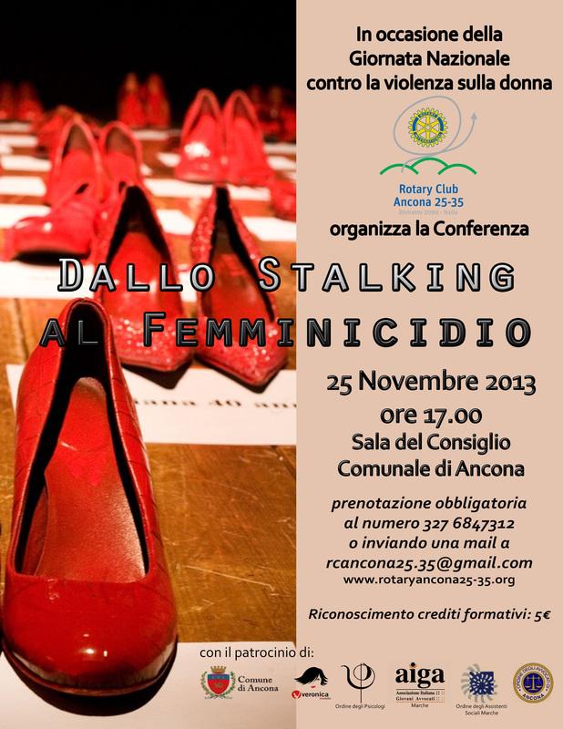 """Miniatura per l'articolo intitolato:Conferenza """"Dallo Stalking al Femmidicidio"""""""