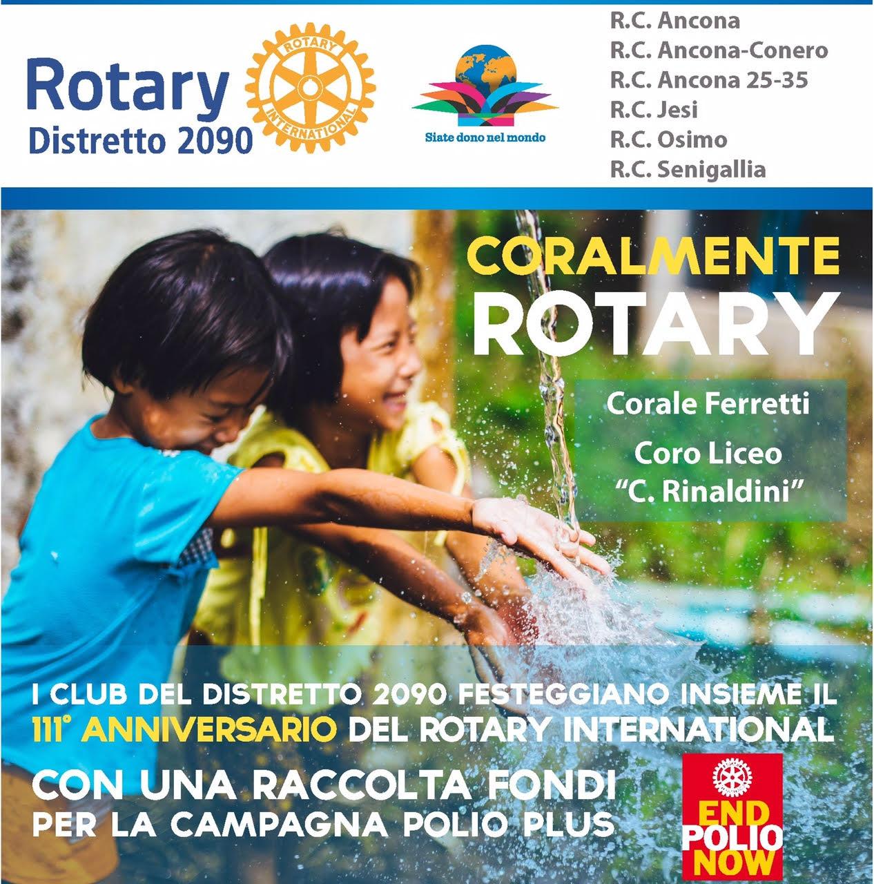 Miniatura per l'articolo intitolato:Coralmente Rotary 2016