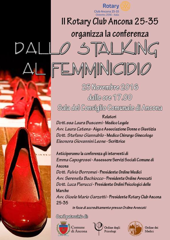 """Miniatura per l'articolo intitolato:Conferenza """"Dallo Stalking al Femminicidio"""""""