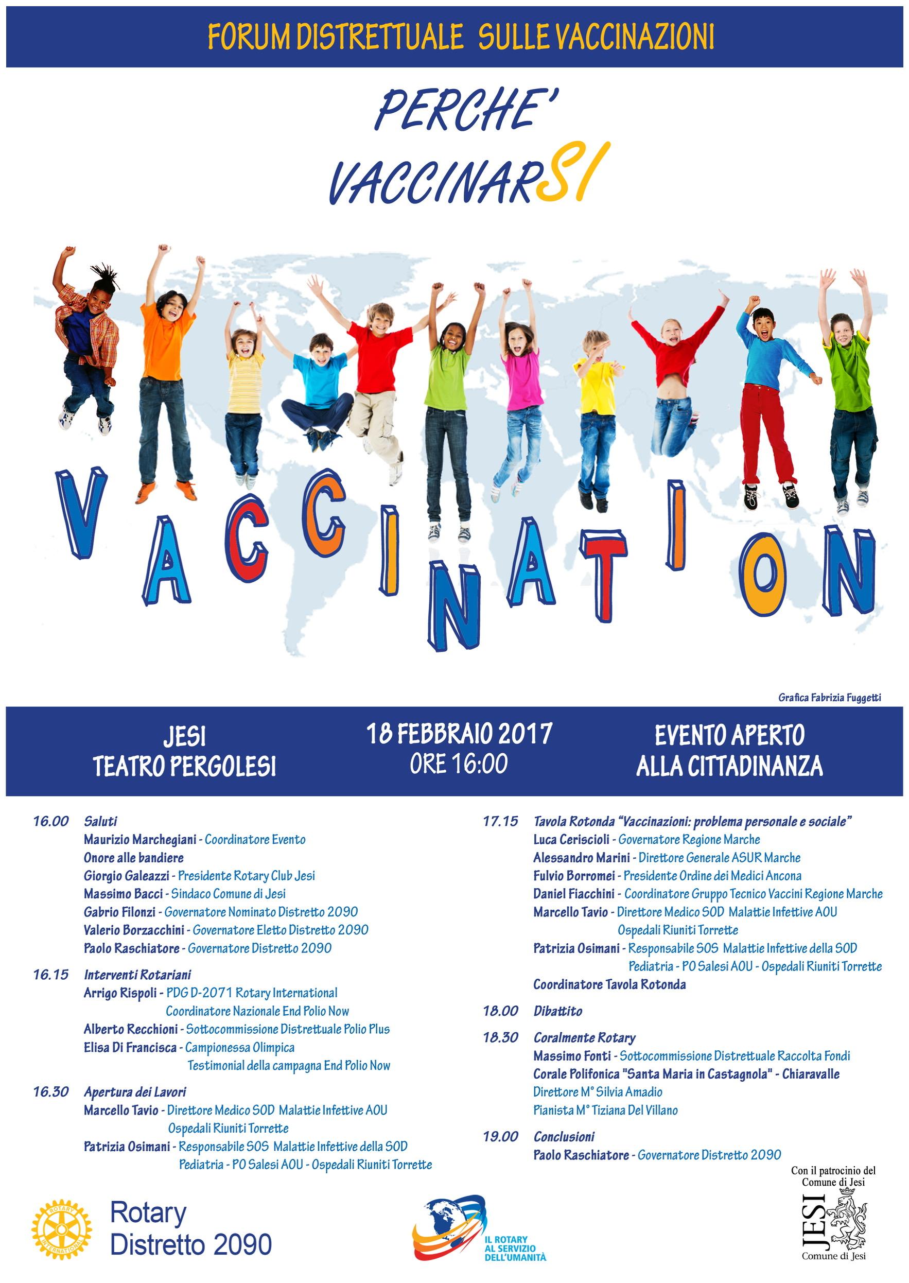 Miniatura per l'articolo intitolato:Forum Distrettuale sulle Vaccinazioni