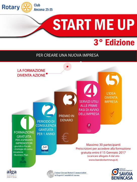 Miniatura per l'articolo intitolato:Terza edizione Start Me Up
