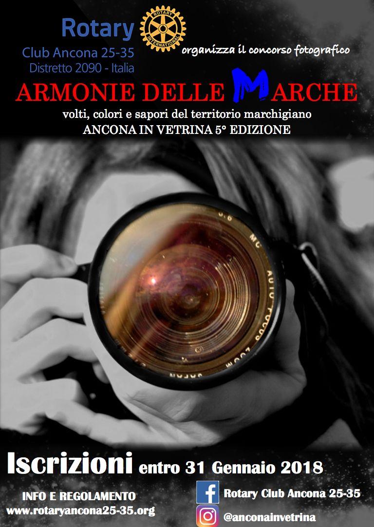 """Miniatura per l'articolo intitolato:CONCORSO FOTOGRAFICO """"ARMONIE DELLE MARCHE"""" A.R. 2017-2018"""
