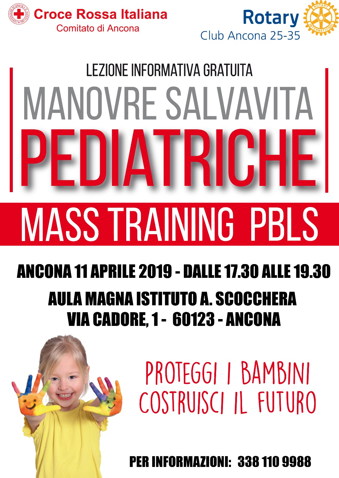 Miniatura per l'articolo intitolato:Lezione su manovre salvavita pediatriche