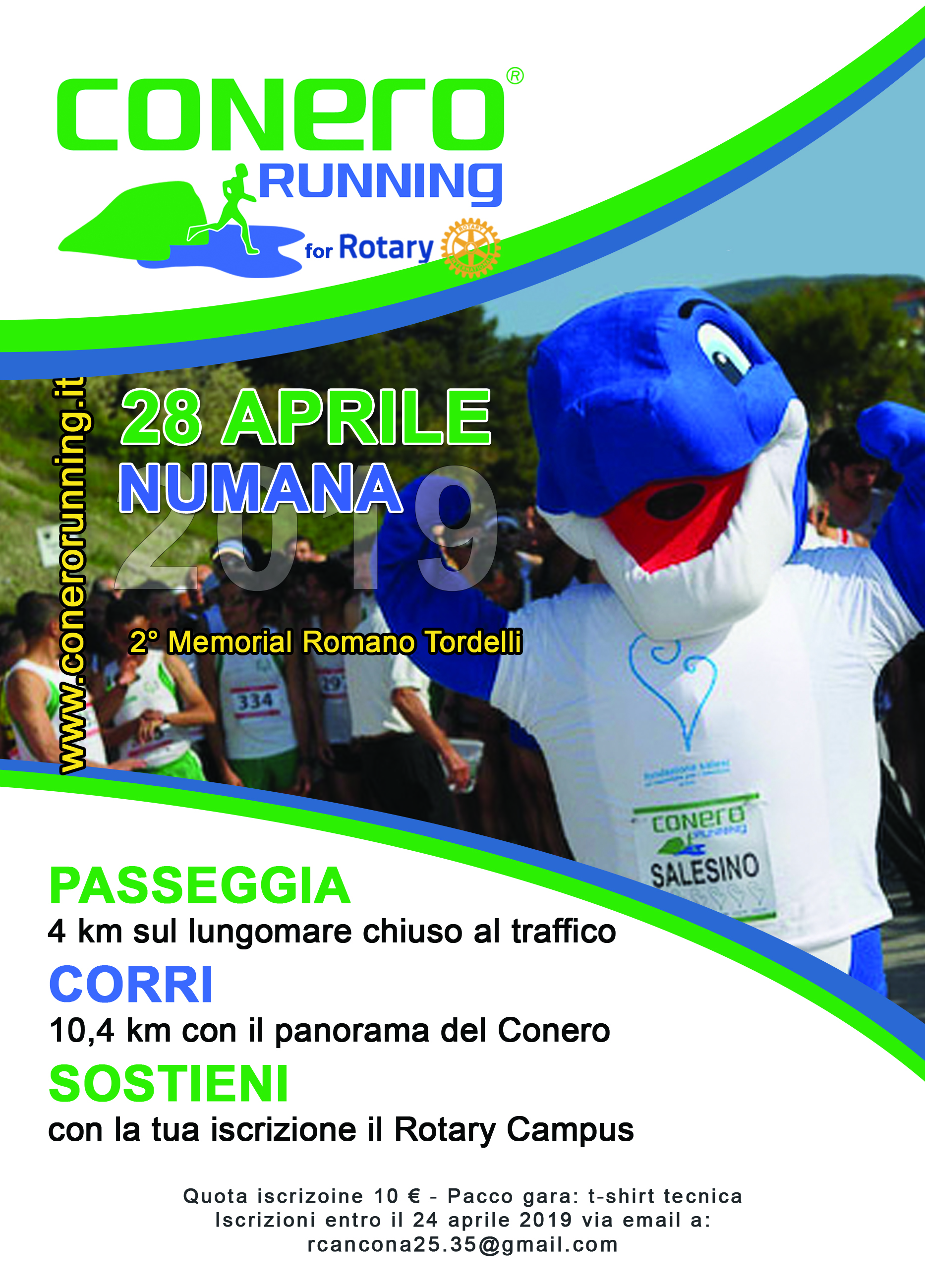 Miniatura per l'articolo intitolato:Conero Running for Rotary