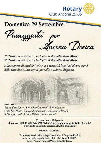 Miniatura per l'articolo intitolato:Passeggiata per Ancona Dorica