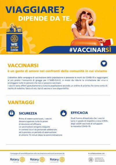 Miniatura per l'articolo intitolato:Campagna di sensibilizzazione alla vaccinazione